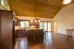 Kitchen to upper deck