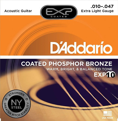 Encordadura Daddario EXP-10