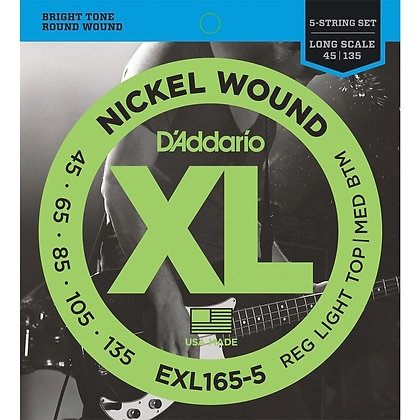 Encordadura Daddario EXL-165-5