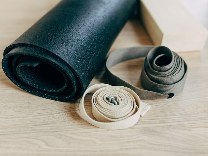 Yoga Mat and Straps