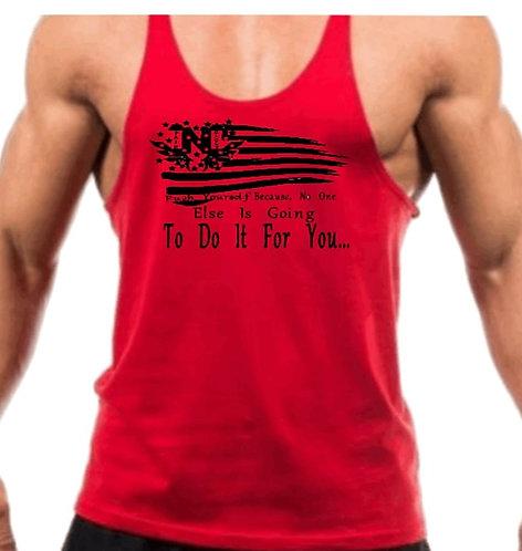American Flag Logo(Male Y-Back Top)