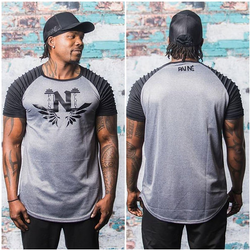 Men Fit Short Sleeve Slim Gym Muscle T-shirt