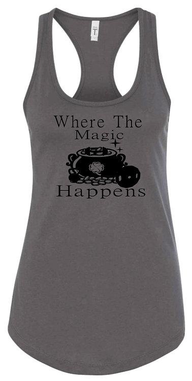 Where the Magic Happens(Women Racer-Back)