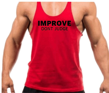 Improve Don't Judge
