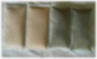Cartouche filtrante pour piscine avant et après un mois d'utilisation