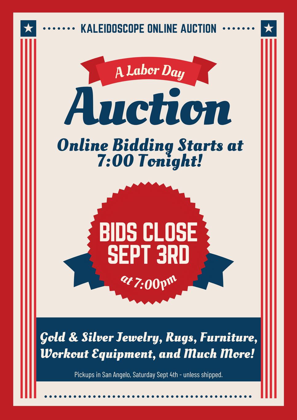 Online Auction!