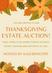 Thanksgiving Week Virtual Estate Sale