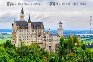 Castillo de Neuschwastein, cerca de la ciudad de Munich