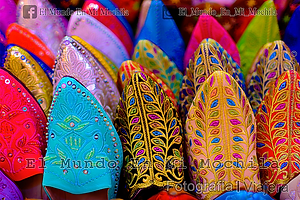 Fotografia en el zoco de marraketch en la plaza el fna