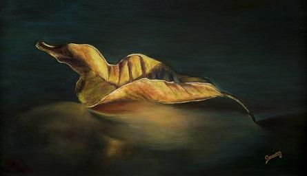 INFINITO Óleo (33 cm x 55 cm)