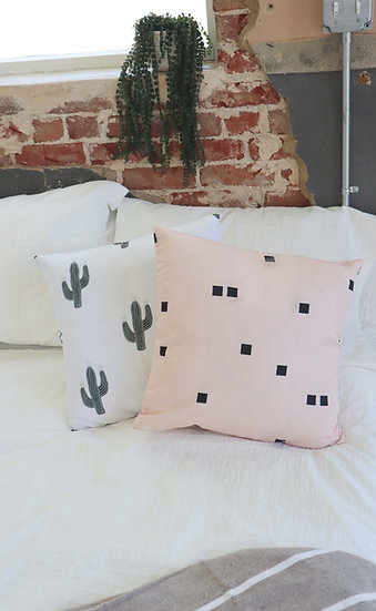 Blush Speck Pillow Cover