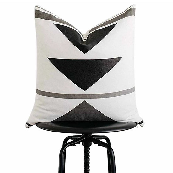 Triangle Geo Pillow Cover