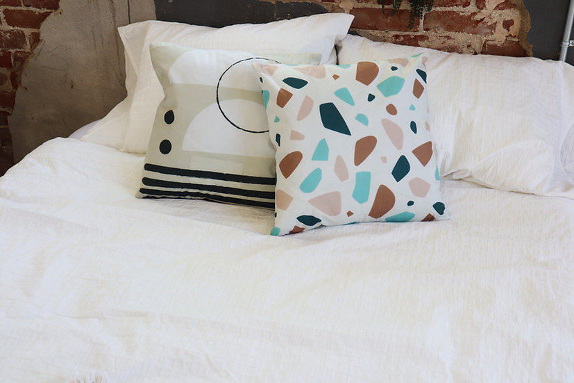 Fractured Jewel Pillow Cover