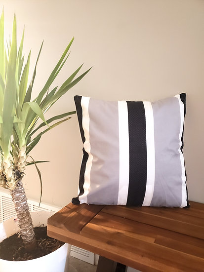 Thick Stripe Pillow Cover