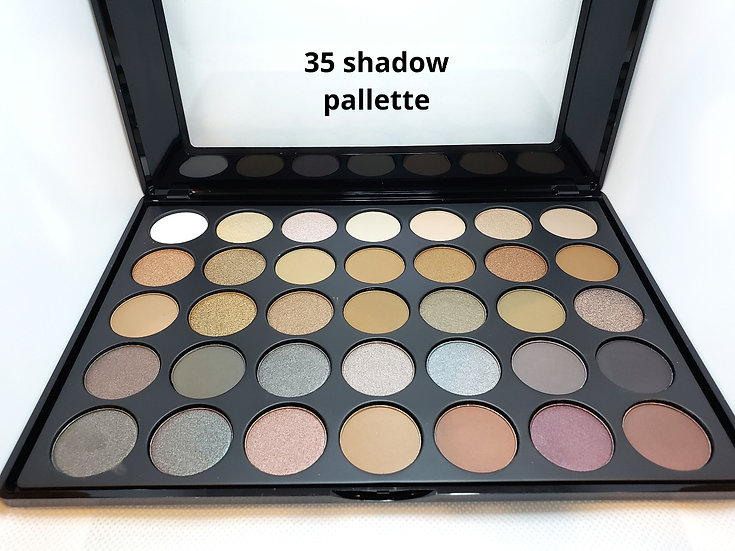 35 shade shadow pallette