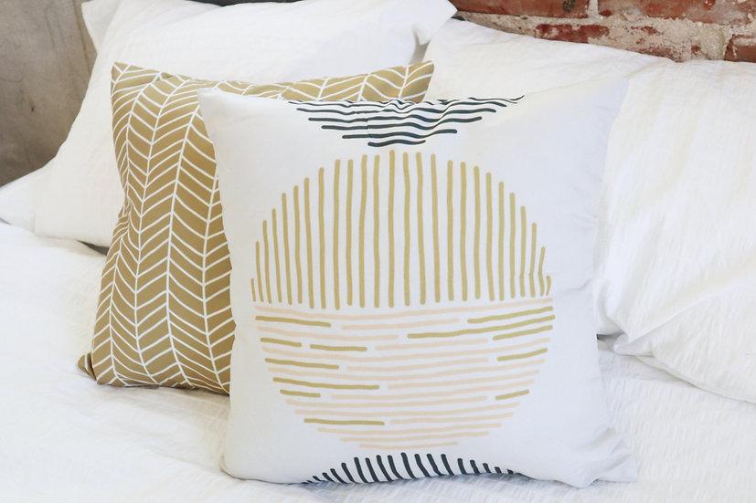 Full Circle Pillow Cover