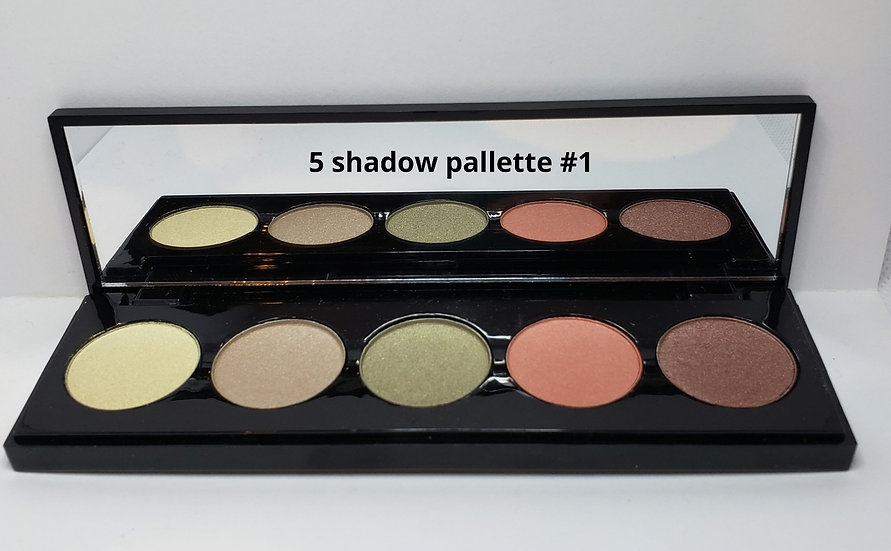 5 shade shadow pallette