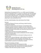 Employment Opportunity   Wahkohtowin Development GP Inc. - Senior Project Manager