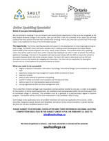 Employment Opportunities - Sault College
