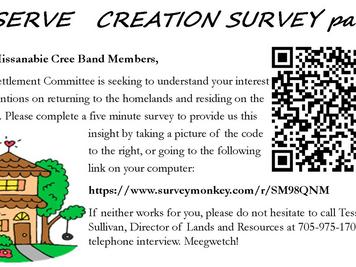 Reserve Creation Survey Part 1