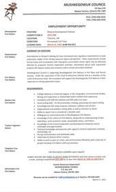 Mushkegowuk Council Job Postings