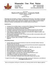 Registered Practical Nurse - Community