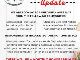 Mush Youth Ambassador - Update