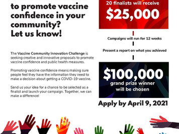 Help spread the word onCOVID-19 vaccines contest