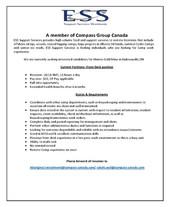 Employment Opportunities - ESS
