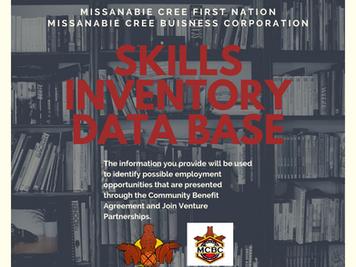 MCBC Skills Inventory Database