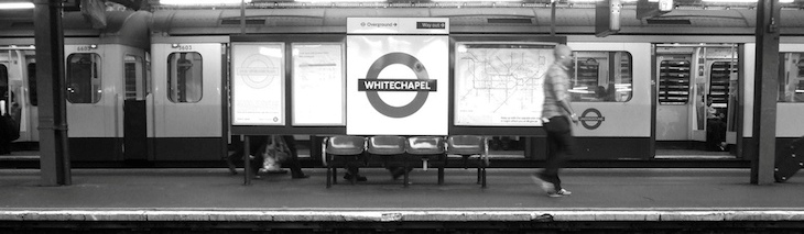 Stations: Whitechapel or Aldgate