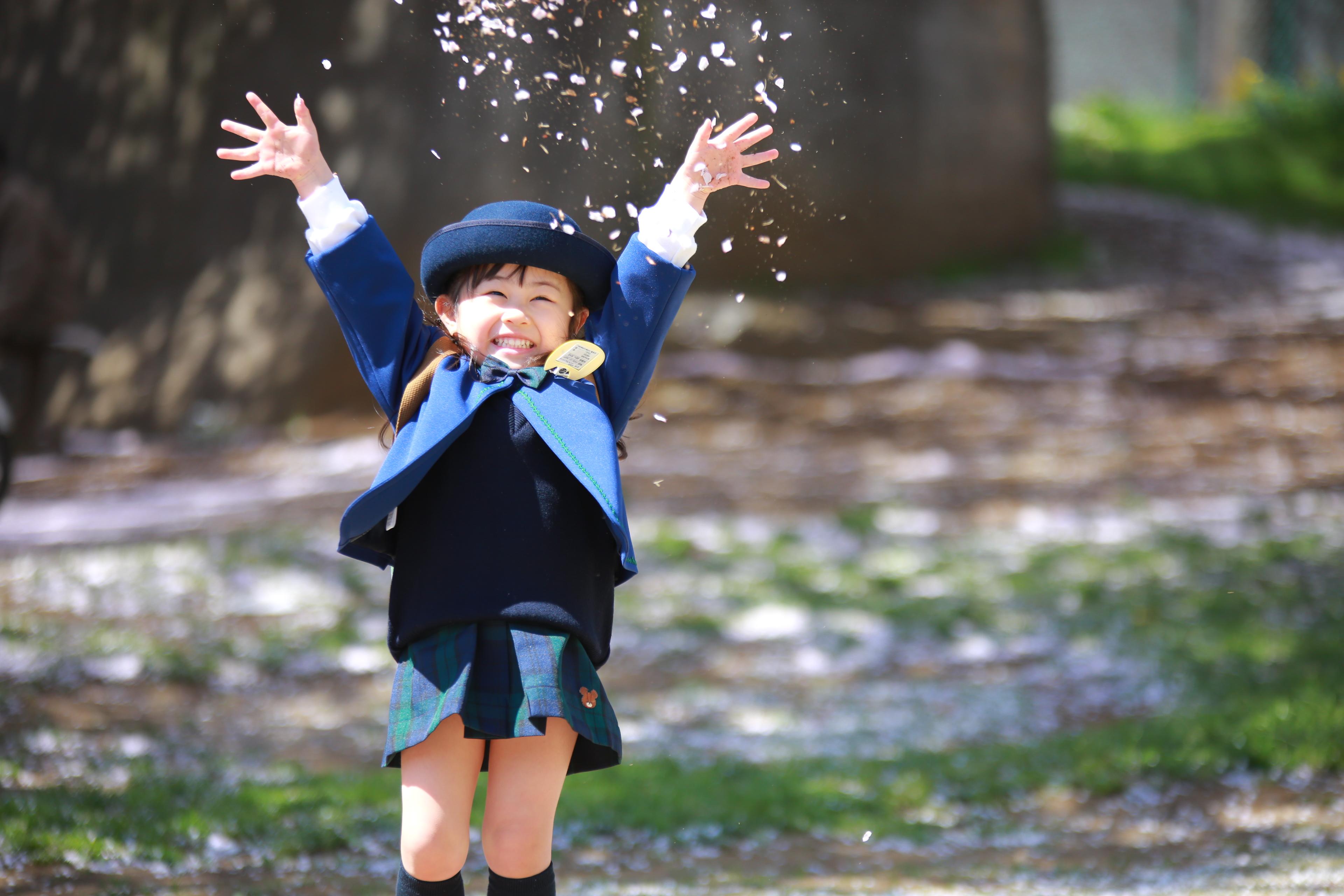 幼稚園入園記念