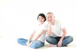 家族写真 夫婦