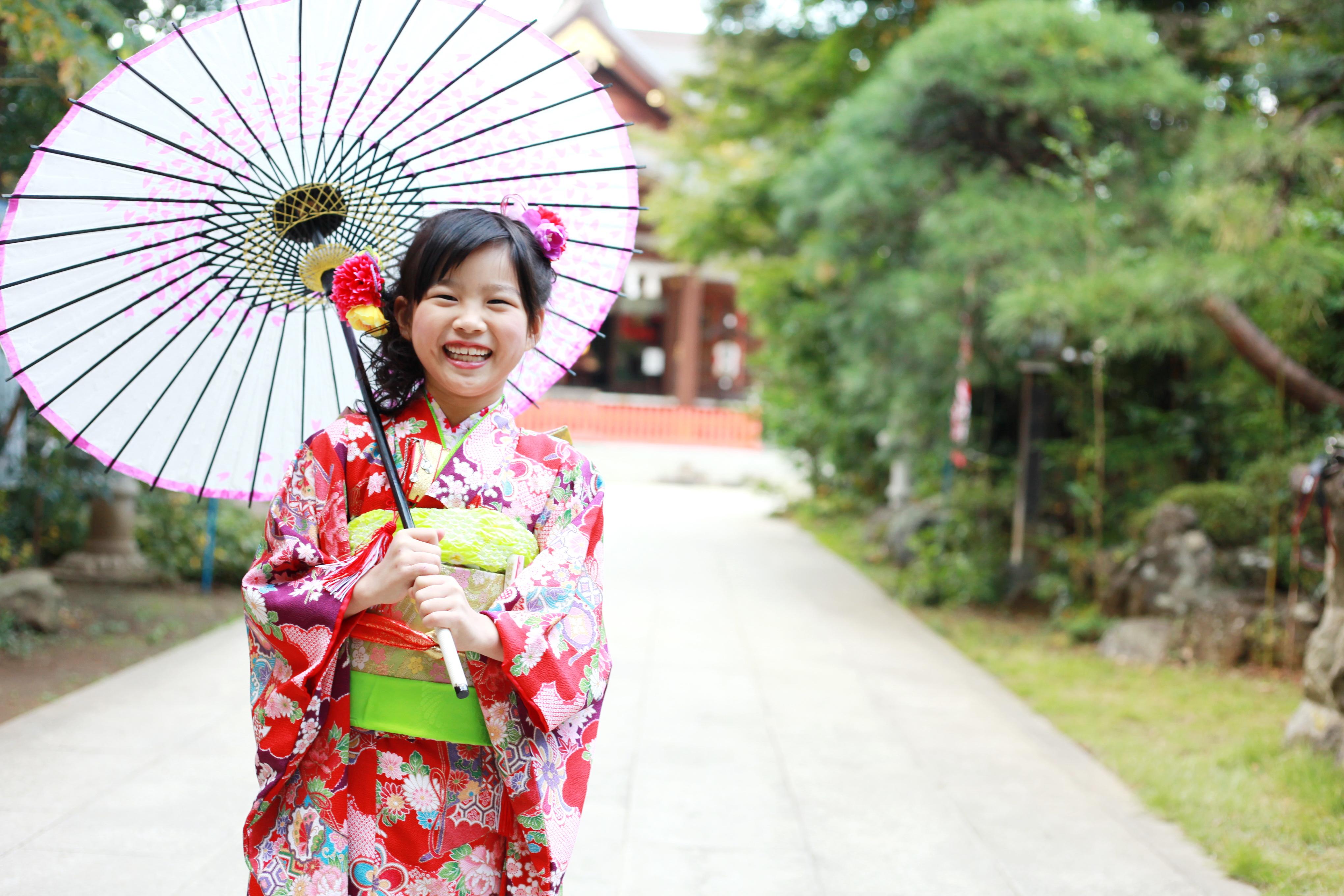 七五三神社ロケーション撮影