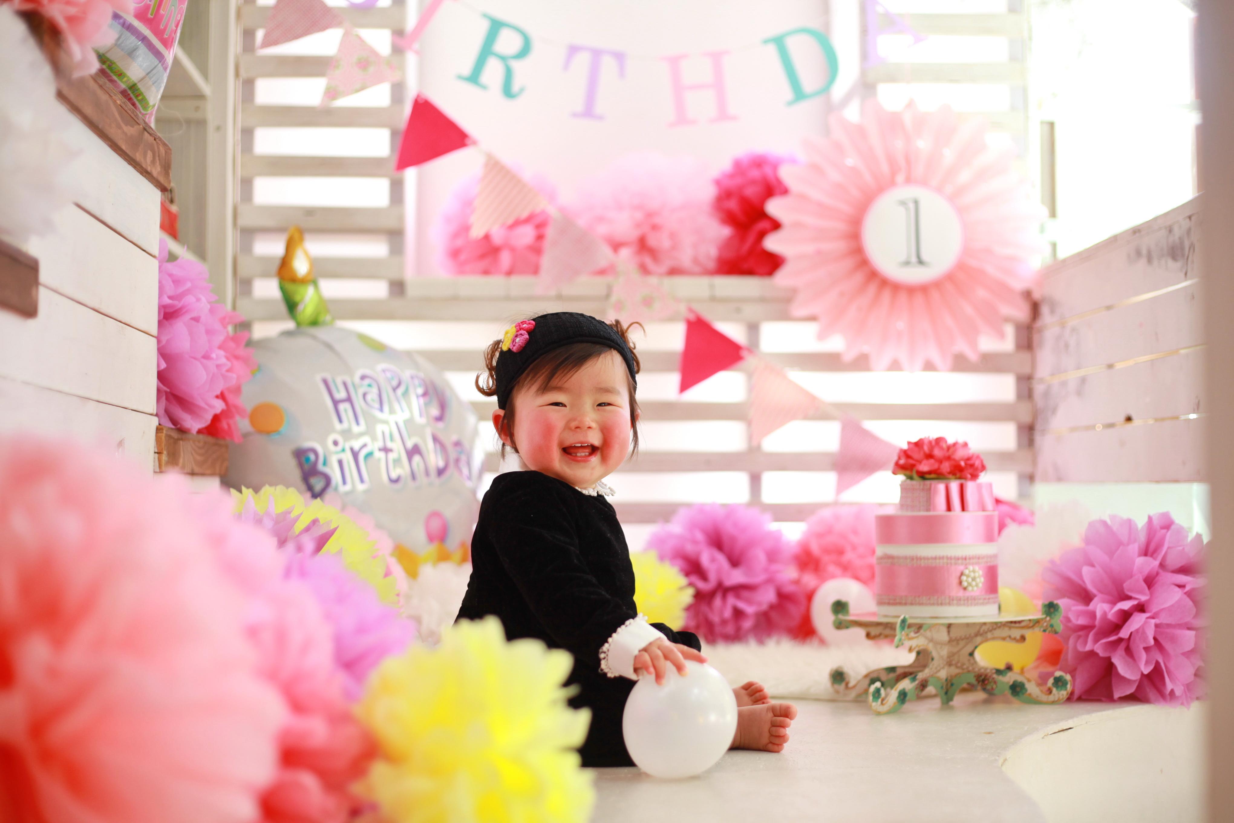 1歳お誕生日記念