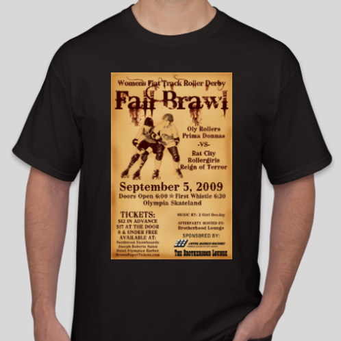 Fall Brawl Tee