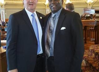 Darryl at the Capitol