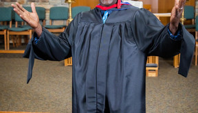 Congratulations to Seminary Graduate, Darryl