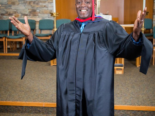 Congratulations to Seminary Graduate, Darryl