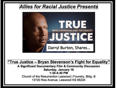 "ARJ & MoI ""True Justice"" Panel Discussion, Jan 18, 2020 begins at 3:30pm- 4:30pm, after the film."