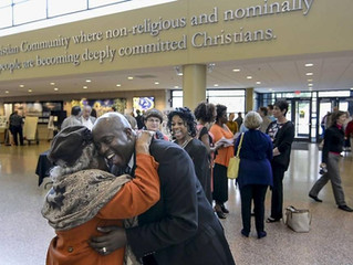 Wrongfully imprisoned for decades, ex-inmate preaches a message of forgiveness