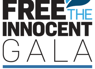 "You're Invited to ""Free the Innocent Gala"" Sept 14, 2019"