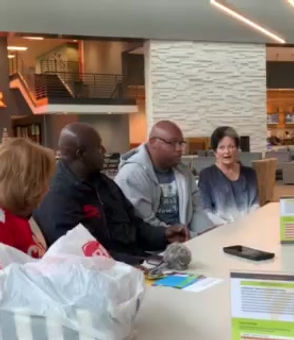 Ricky Kidd expressesion of thanks and appreciation to the Gala 2019 Volunteers at COR at Volunteer Appreciation Meeting, Sunday Oct 7, 2019.