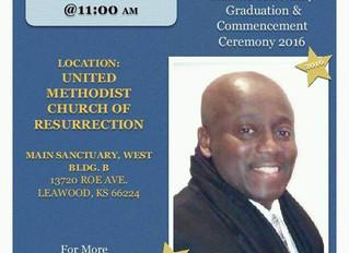 Class of 2016 Graduation - May 20, 2016