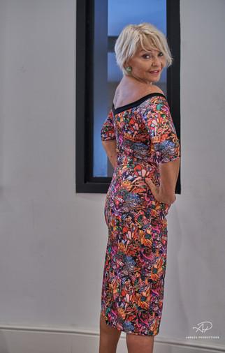 Tango Fashion made by Jola Sosnowitcz (also model)