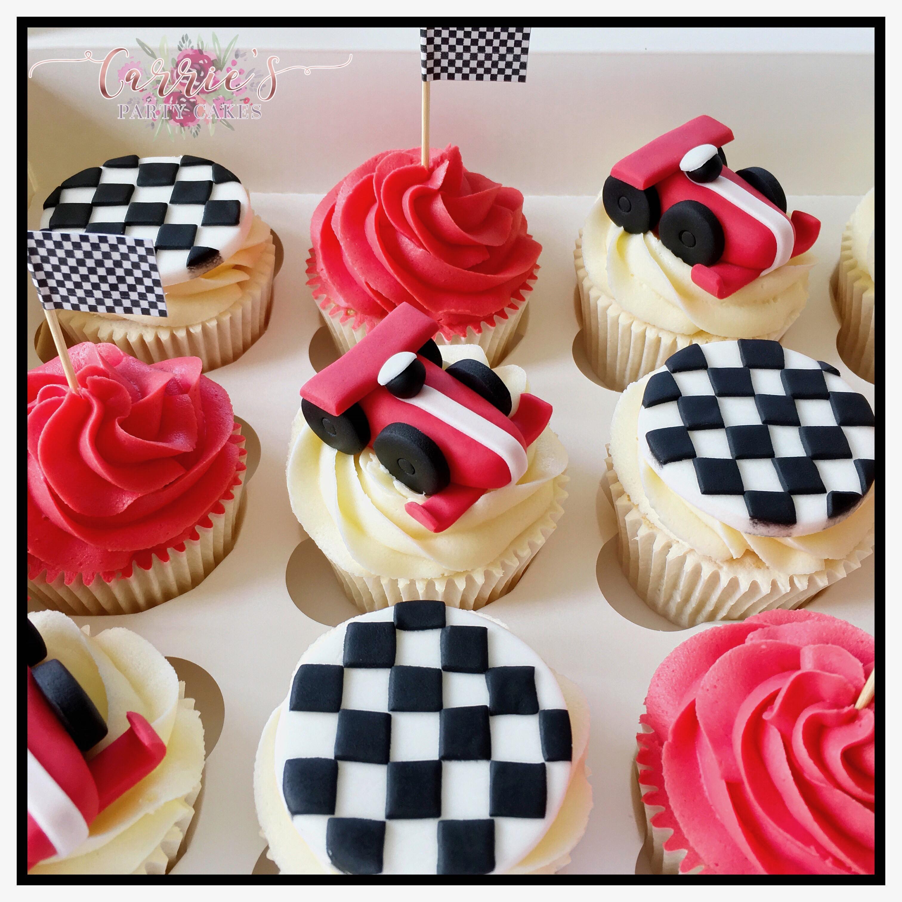 F1 cupcakes