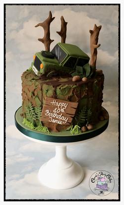 Land Rover cake