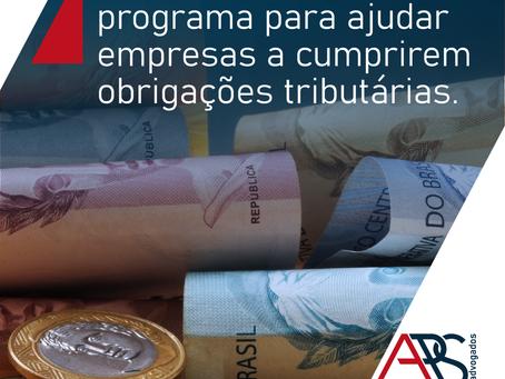 Receita Federal lança programa para ajudar empresas a cumprirem obrigações tributárias.