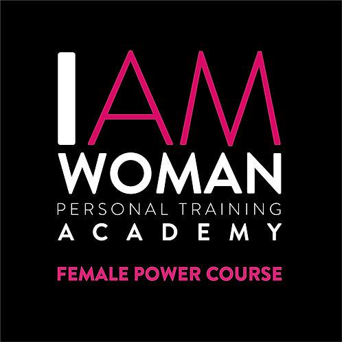 Female Power Course SEPTEMBER