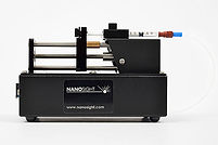 NanoSight syringe pump
